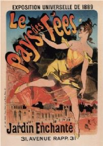 Vintage French poster - World's Fair (1889)